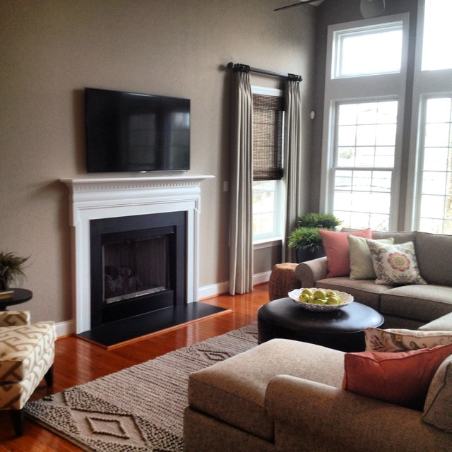 West Chester PA Family Room Traditional Living Room