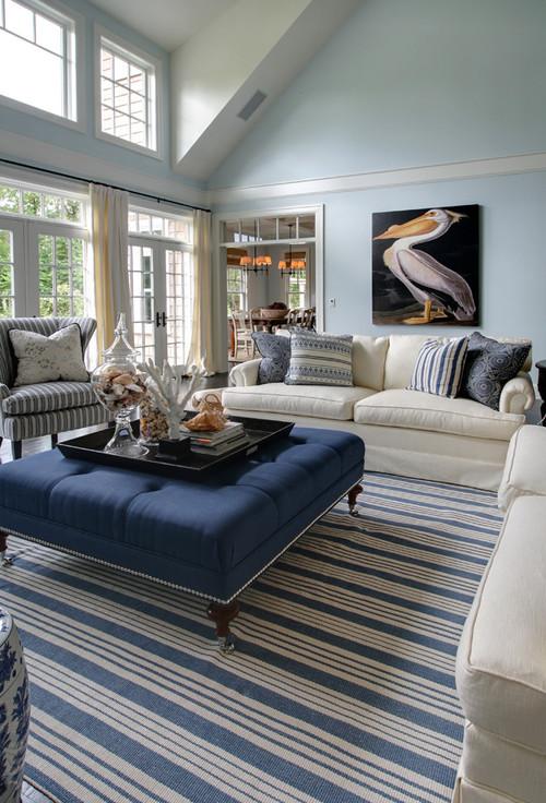 Lovely Beach Style Living Room By Garrison Hullinger Interior Design Inc. Part 10