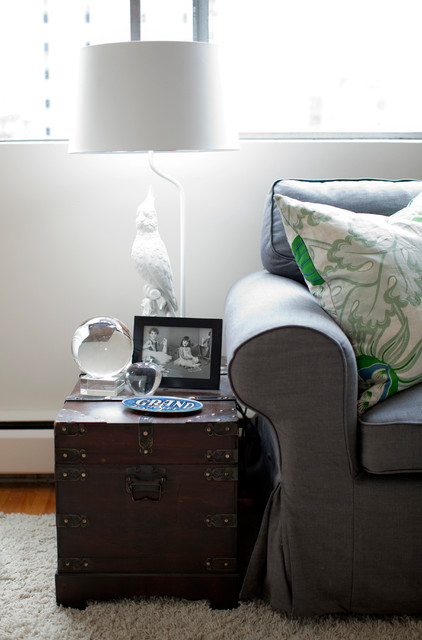 West End Studio Eclectic Living Room Vancouver By