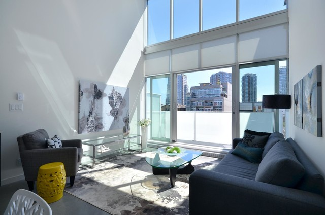 West Hastings - The Paris Staging contemporary-living-room
