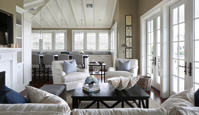 West Indies Residence tropical-living-room