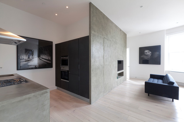 West London Refurbishment Modern Living Room By Temple