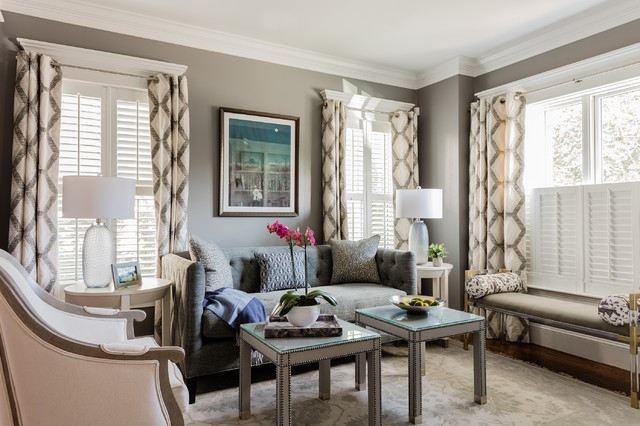 living room photos houzz | West Newton Towhnhome - Traditional - Living Room - Boston ...