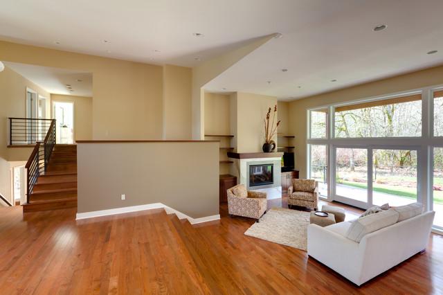 West Salem Remodel contemporary-living-room