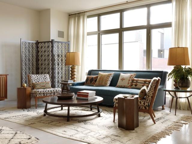 West Village Apartment Midcentury Living Room New York By Sara Bengur