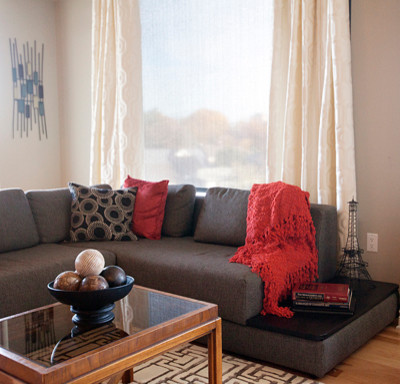 Westboro Station Residence contemporary-living-room