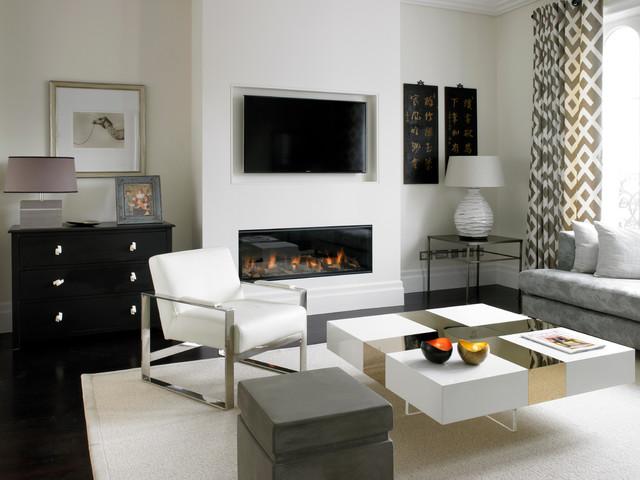 Westbourne Grove Contemporary Living Room London By Lex