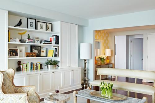 Styled Bookshelves