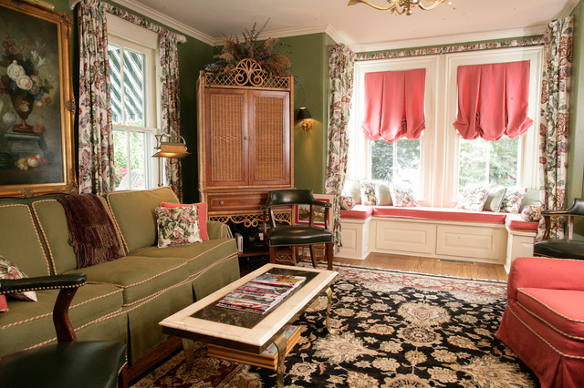 Westchester Area Homes Ayse Lewis Interior Design Traditional Living Room New York By