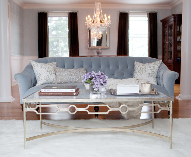 Westchester classic contemporary living room new for Interior designers westchester ny