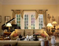 Westchester Country Home traditional-living-room