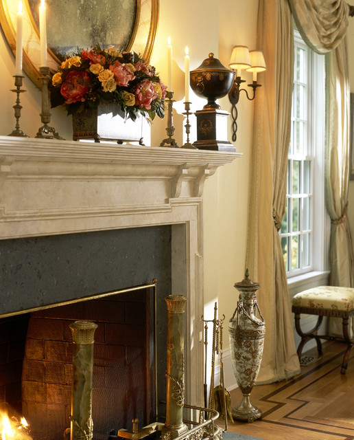 Westchester County Home traditional-living-room