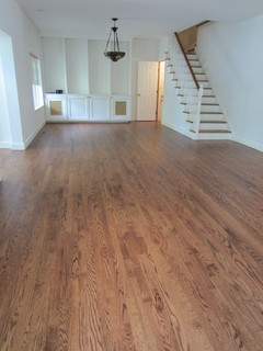Westhampton Red Oak Stained Early American And Bona