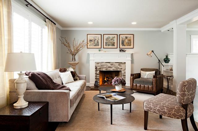 Westlake Living Room traditional-living-room