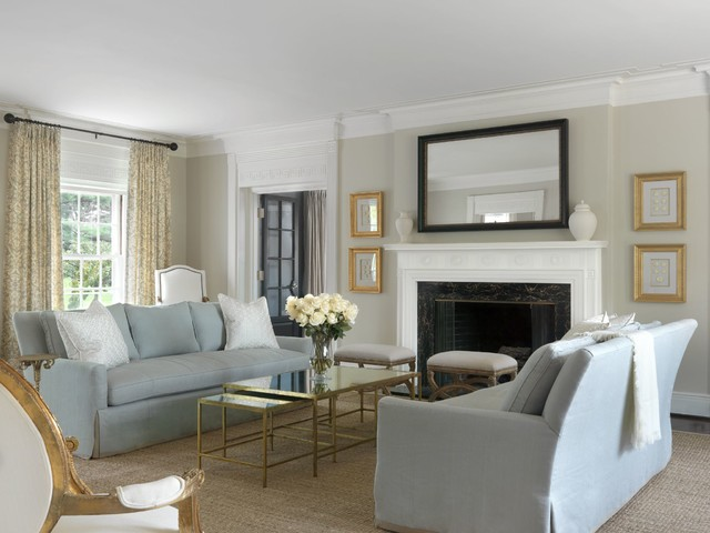 Westmont Traditional Living Room St Louis By Amy