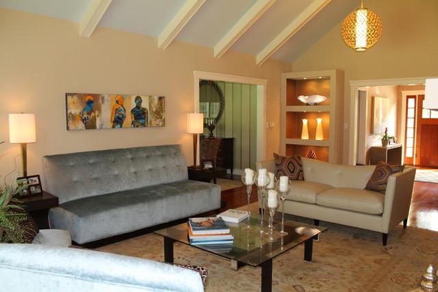 Weston home contemporary-living-room