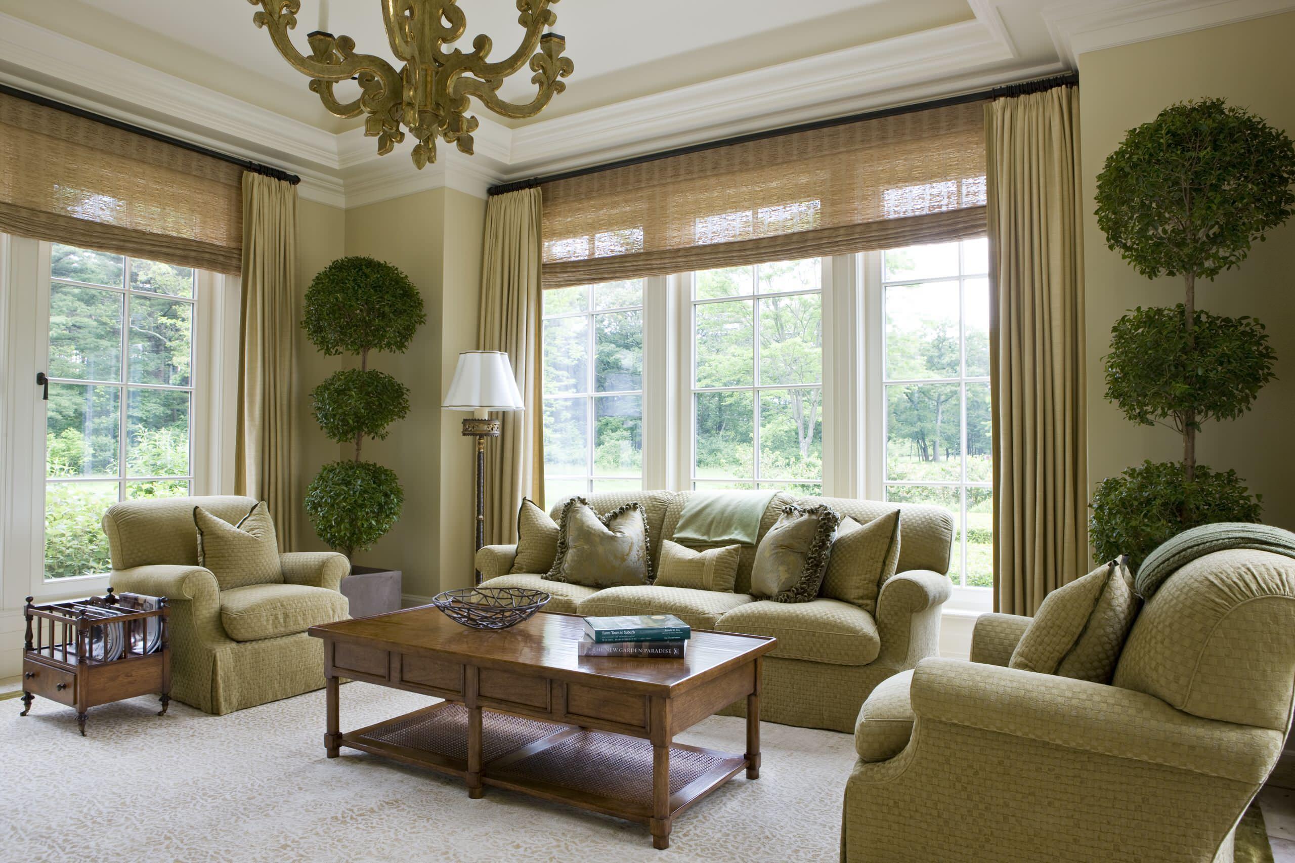Curtain With Bamboo Shade Ideas Photos Houzz