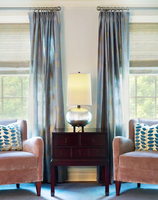 Westport Family Home contemporary-living-room