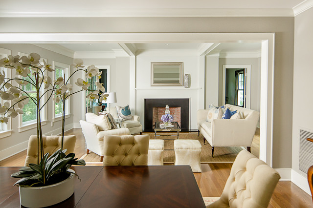 Westport farmhouse for the modern traditionalist farmhouse living room