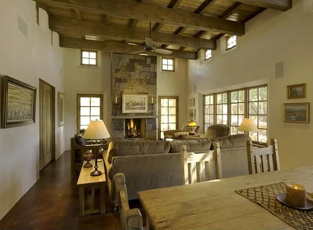 Wetzel/Cameron contemporary-living-room
