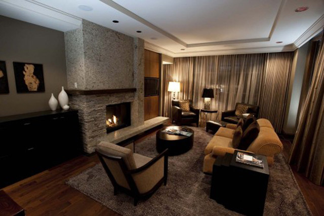 While at CHil Design Group contemporary living room