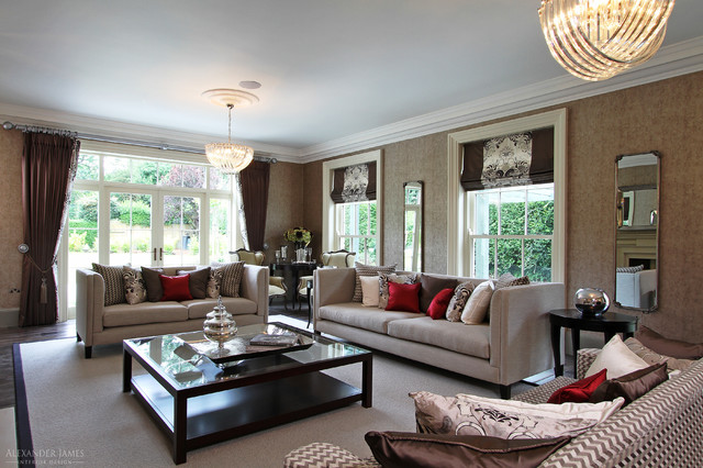 Whincop Cheam Sutton Uk Traditional Living Room London By Alexander James Interiors