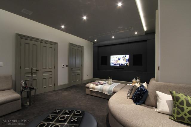 Modern Living Room Uk whincop - cheam, sutton uk - modern - living room - london -