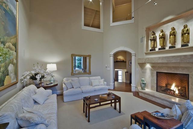 Whistler traditional-living-room