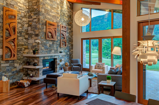 Whistler Mountain Modern - Modern - Living Room ...