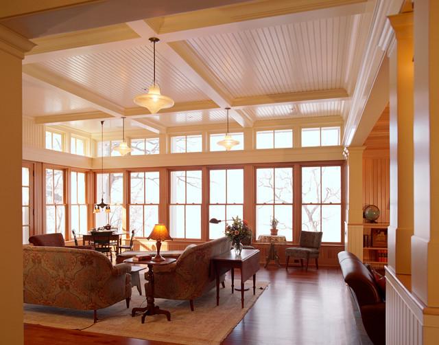 White Bear Lake Home traditional-living-room