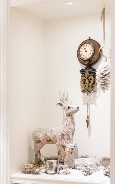Astonishing White Christmas Decorations Transitional Living Room Download Free Architecture Designs Scobabritishbridgeorg