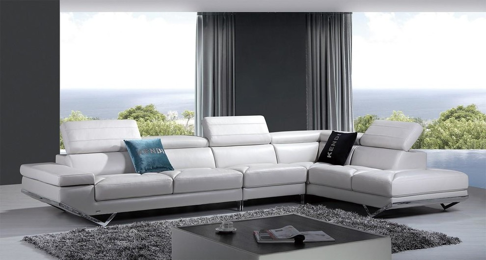 Inspiration for a modern living room remodel in Los Angeles