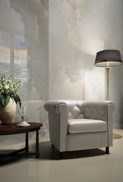 White Onix traditional-living-room