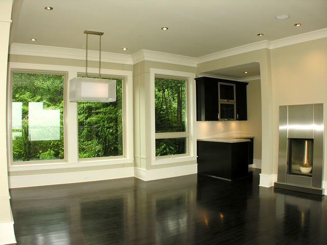 White Rock transitional-living-room