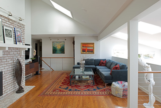 Whole House Remodel Avon Ct Modern Living Room By Taylor Bryan Company