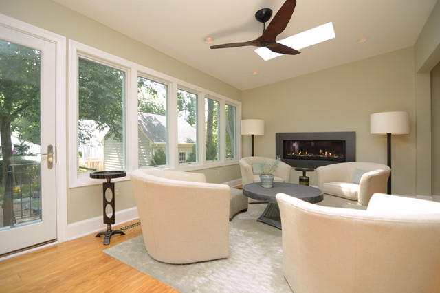 Whole House Remodel contemporary-living-room