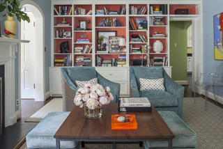 Whole House Update - Chevy Chase Maryland - Transitional - Living Room - dc metro - by Four ...