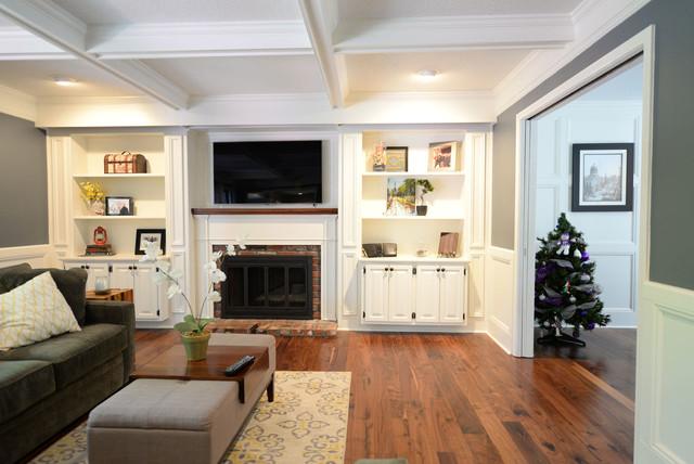 houzz living rooms with hardwood floors wide plank hardwood floors traditional living room