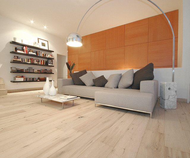 Exceptional Wide Plank Wood Floors In Living Rooms Contemporary Living Room