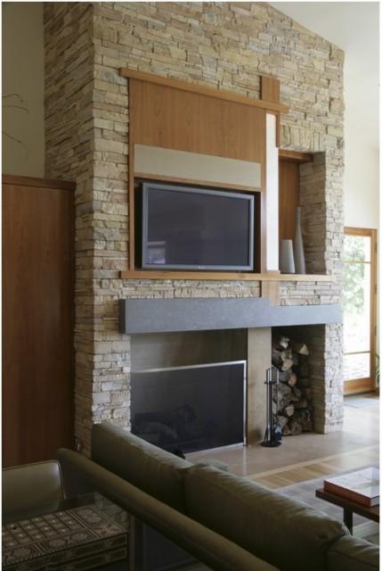 William Hefner Architecture Interiors & Landscape contemporary-living-room