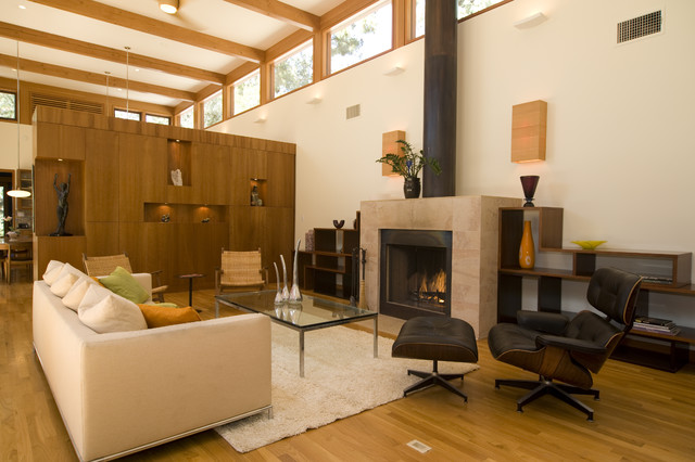 William Hefner Architecture Interiors & Landscape contemporary living room
