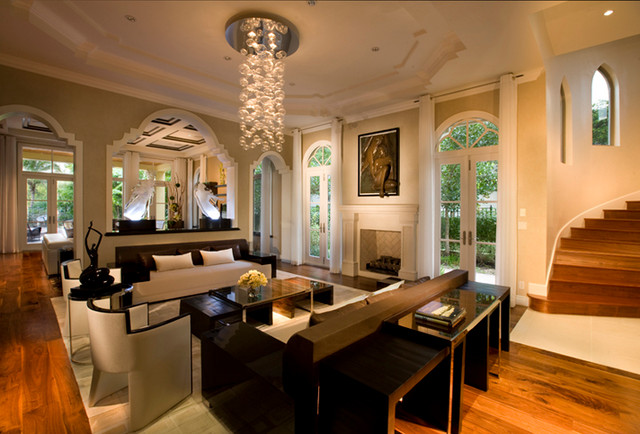 contemporary charcoa living room furniture miami photo features - Living Room Miami