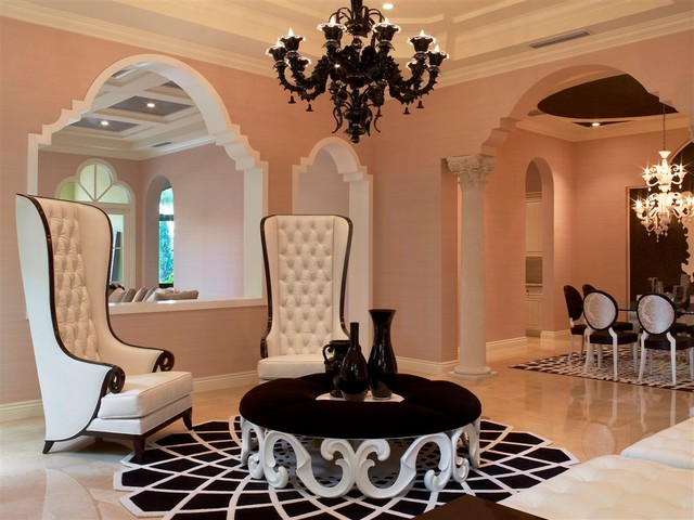 Interior Designers Decorators WILLIAMS ISLAND VILLA FLORA Contemporary Living Room