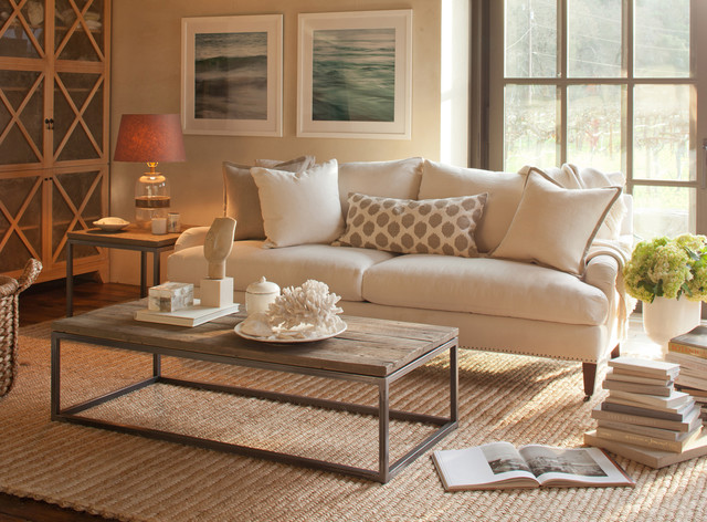 Williams Sonoma Home modern living room. Williams Sonoma Home
