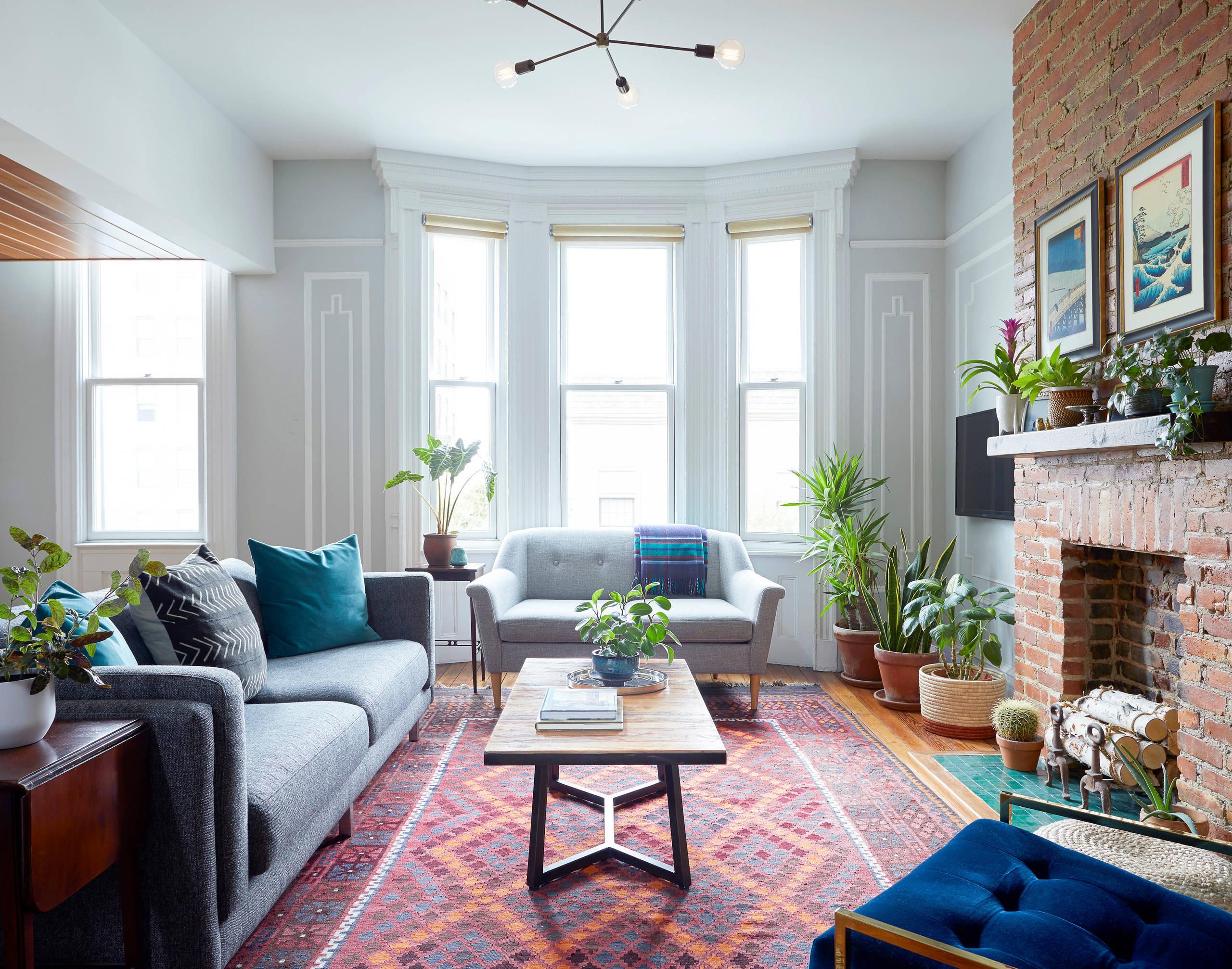 Living Room Plant Decor Ideas Photos Houzz