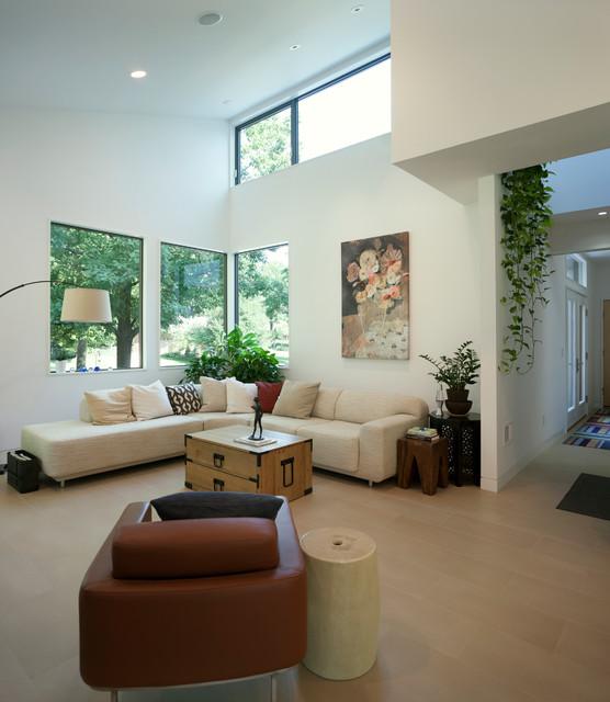 Williamsyork Residence Modern Living Room Kansas
