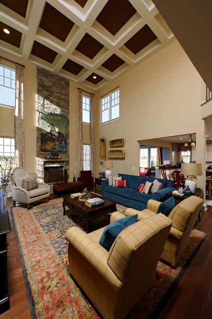 Willowsford Ashford Model Contemporary Living Room