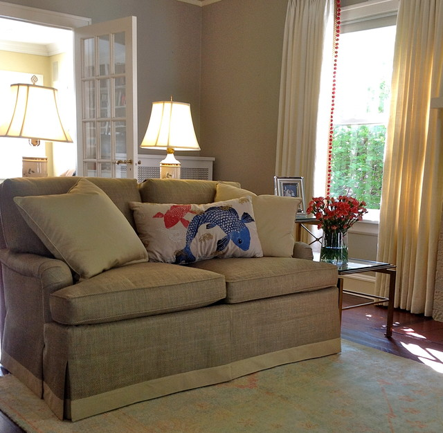 Houzz Living Rooms Traditional: Wilmette Home