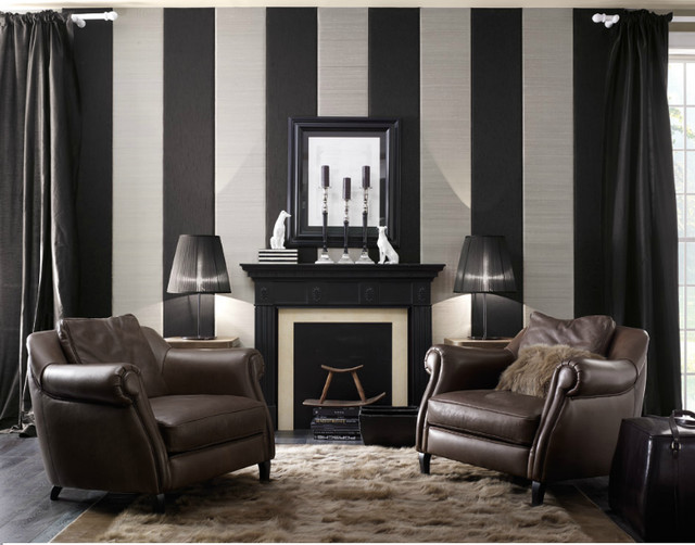 Wilson armchairs traditional living room toronto for Traditional armchairs for living room
