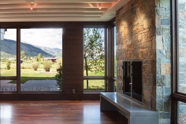 Wilson Contemporary contemporary-living-room